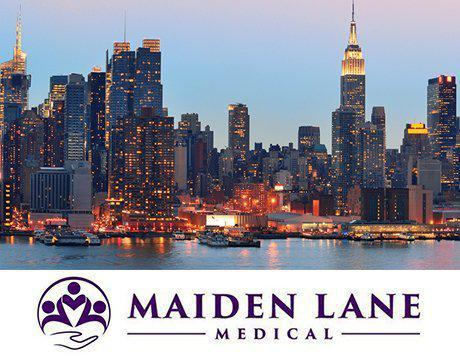 New York City Maiden Lane Medical Logo