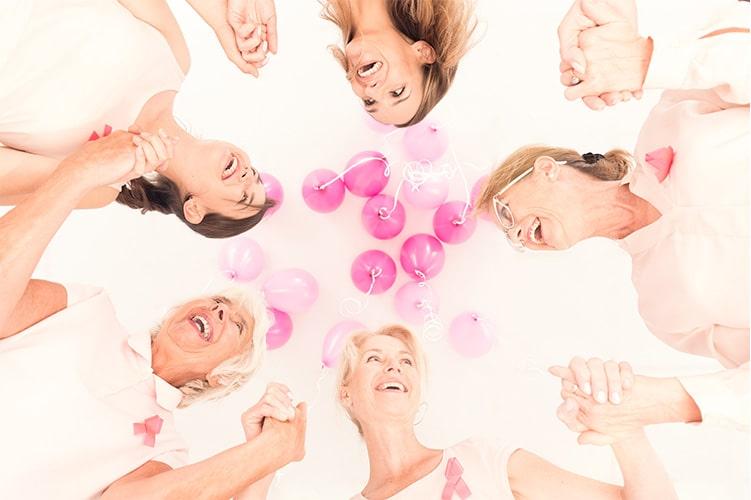 Smiling Women in a Circle Gynecology Maiden lane Medical