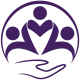 Maiden Lane Medical Large round purple logo