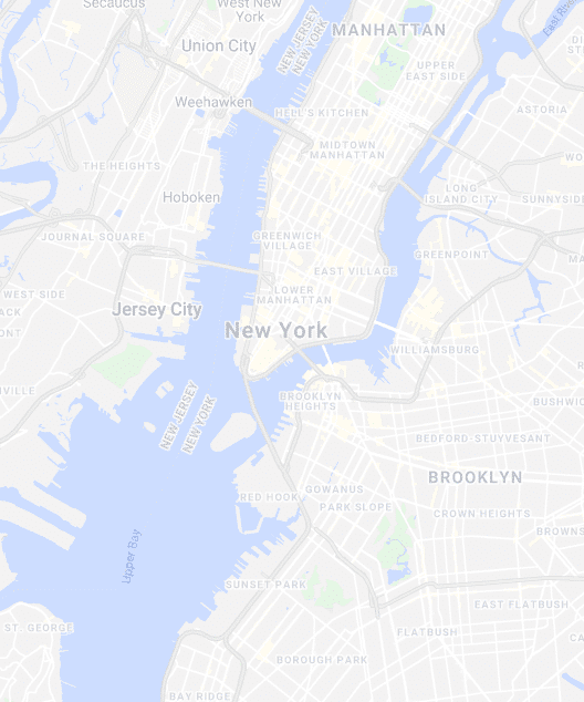 Map image of New York and Brooklyn - Maiden Lane Medical