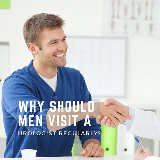 Young man shaking hands with his urologist - Maiden Lane Medical, NYC